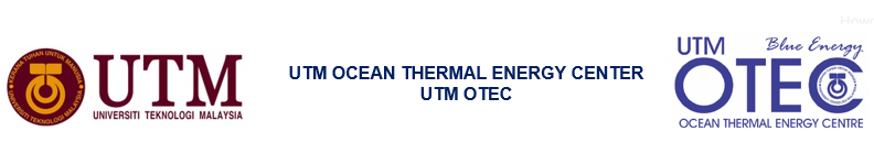 UTM Ocean Thermal Energy Centre (UTM OTEC)