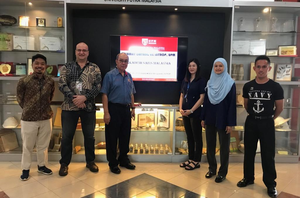10 December 2018 : Prof Dato' Ir Dr A.Bakar Jaafar : VISIT to UPM INTROP Biomass Assessment & Slashed Materials Logistics